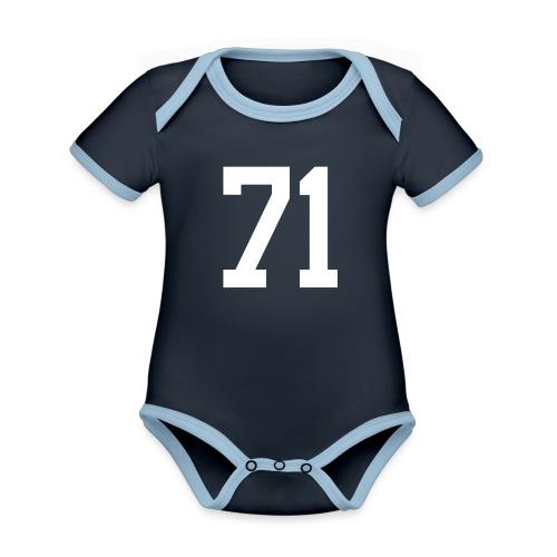 71 WLCZEK Sebastian - Baby Bio-Kurzarm-Kontrastbody