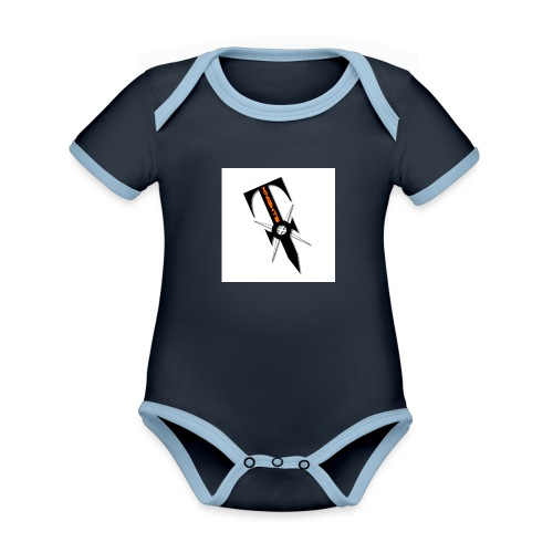 SimplePin - Organic Baby Contrasting Bodysuit