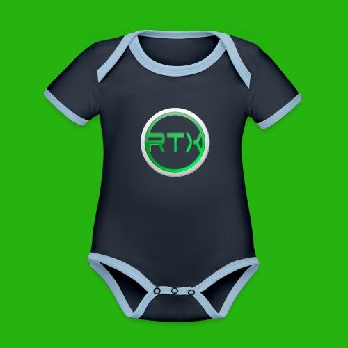 Logo Mug - Organic Baby Contrasting Bodysuit