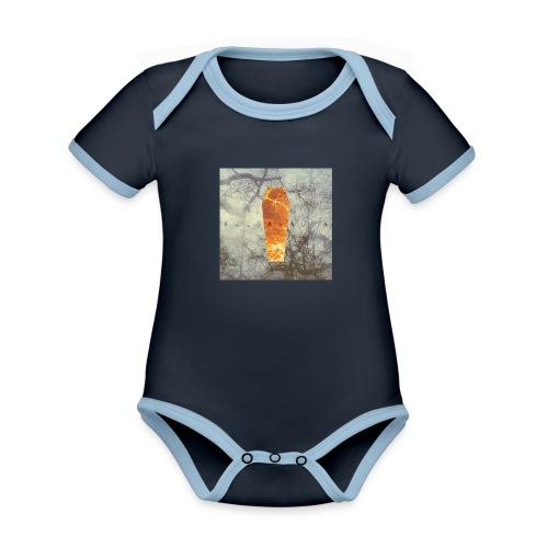 Kultahauta - Organic Baby Contrasting Bodysuit