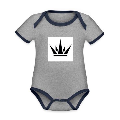 King T-Shirt 2017 - Organic Baby Contrasting Bodysuit