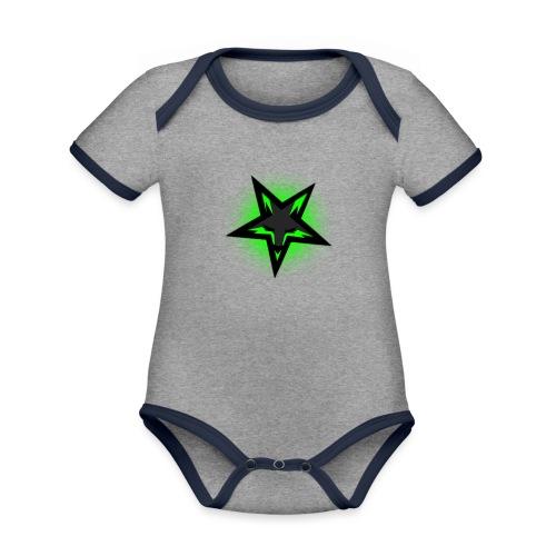 KDutch Logo - Organic Baby Contrasting Bodysuit