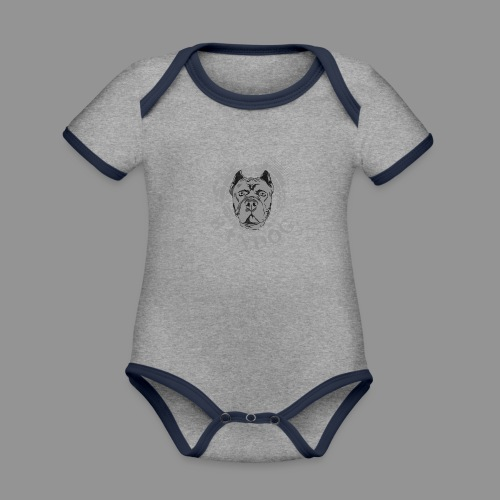 Bandog - Organic Baby Contrasting Bodysuit