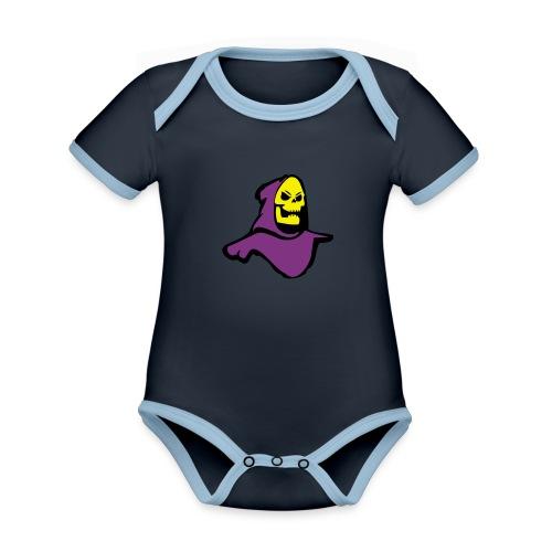Skeletor - Organic Baby Contrasting Bodysuit