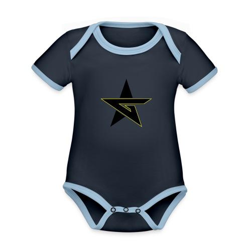 Last Dragon - Organic Baby Contrasting Bodysuit