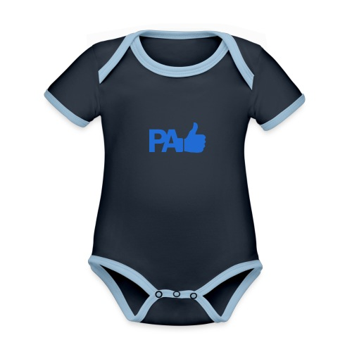 PaLike - Body contraste para bebé de tejido orgánico