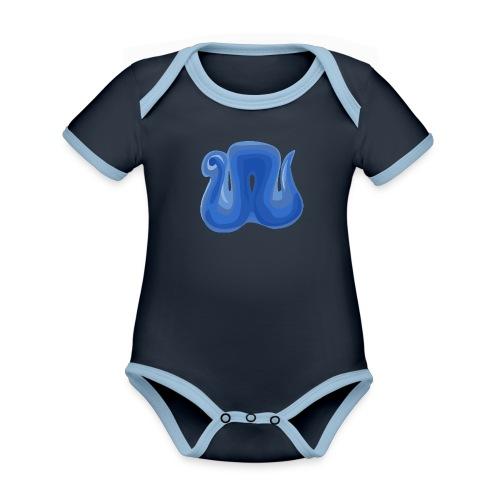 nighres logo - Organic Baby Contrasting Bodysuit