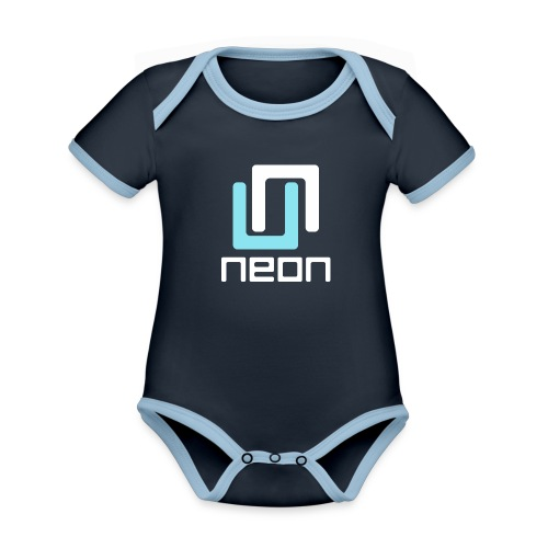 Neon Guild Classic - Organic Baby Contrasting Bodysuit