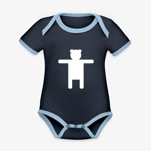 Women's Pink Premium T-shirt Ippis Entertainment - Organic Baby Contrasting Bodysuit