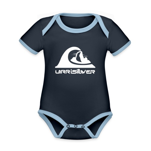 Pico Urriellu - Body contraste para bebé de tejido orgánico