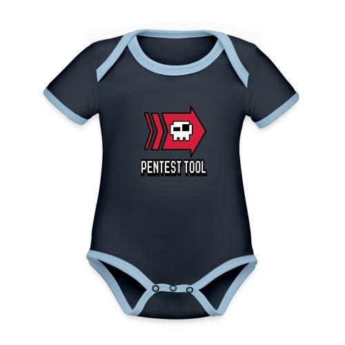 pentesttool - Organic Baby Contrasting Bodysuit