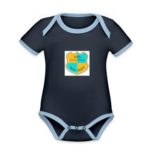 STG Vienna Kickers Logo - Baby Bio-Kurzarm-Kontrastbody