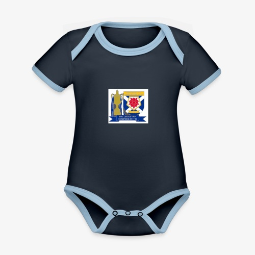 MFCSC Champions Artwork - Organic Baby Contrasting Bodysuit