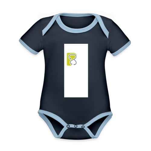 LogoTS - Baby Bio-Kurzarm-Kontrastbody