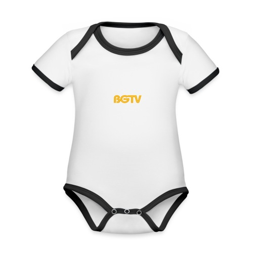 BGTV - Organic Baby Contrasting Bodysuit