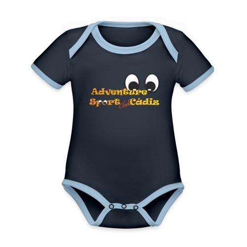 ADVENTURE SPORT CLUB CÁDIZ - Body contraste para bebé de tejido orgánico