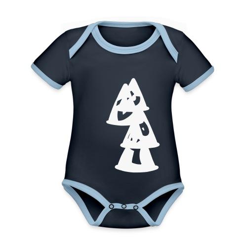Conos CRZY: CR - Body contraste para bebé de tejido orgánico