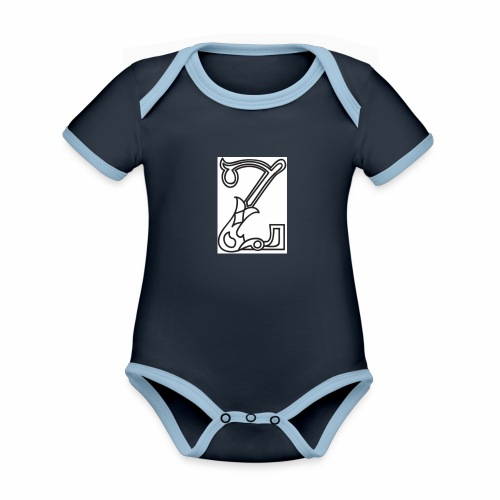 Z - Organic Baby Contrasting Bodysuit