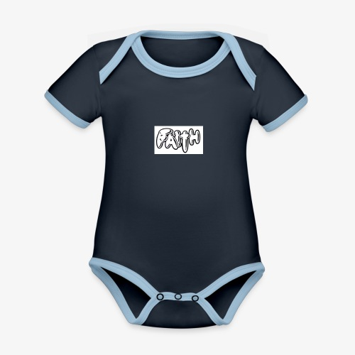 faith - Organic Baby Contrasting Bodysuit