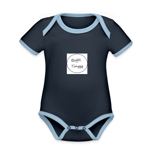 BoffTinggg - Organic Baby Contrasting Bodysuit