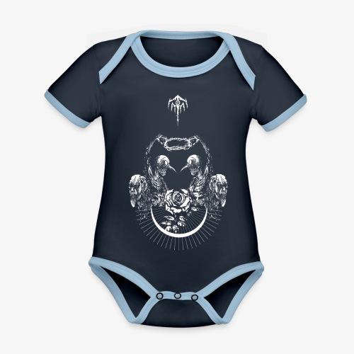 Nocturn design 2 - Body Bébé bio contrasté manches courtes