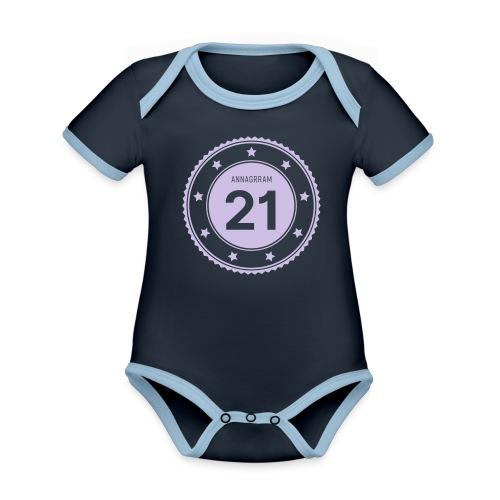 Annagram band - 2021 - Body Bébé bio contrasté manches courtes