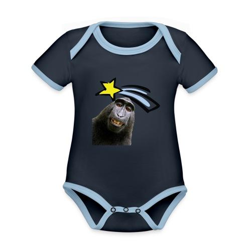 Starsinge - Body Bébé bio contrasté manches courtes