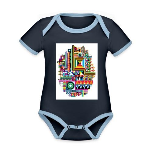 Love Tribe - Organic Baby Contrasting Bodysuit