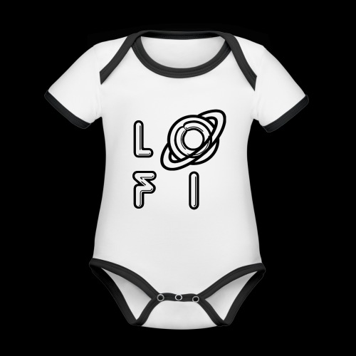 PLANET LOFI - Organic Baby Contrasting Bodysuit