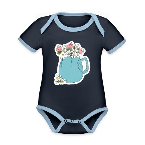 not broken - spring - Body contraste para bebé de tejido orgánico