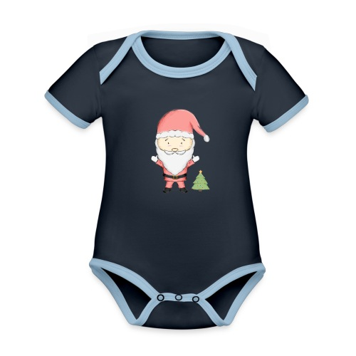 SA - Body contraste para bebé de tejido orgánico