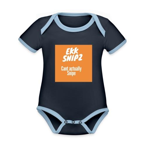 ekk - Organic Baby Contrasting Bodysuit