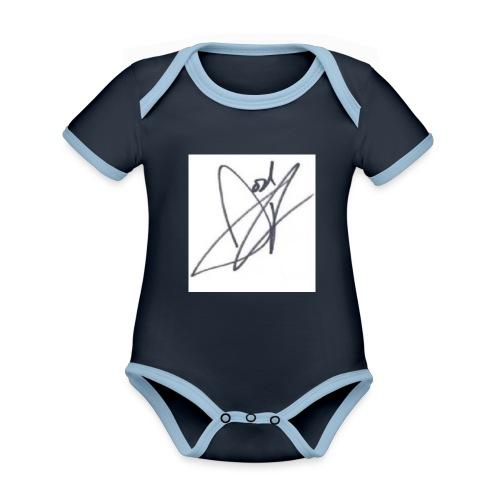 Tshirt - Organic Baby Contrasting Bodysuit