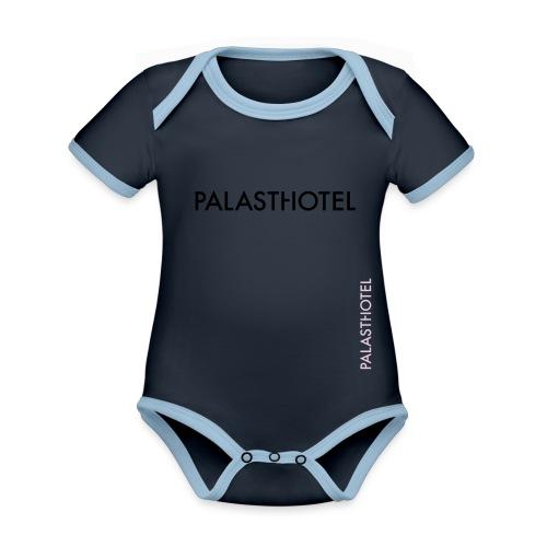 Palasthotel - Baby Bio-Kurzarm-Kontrastbody