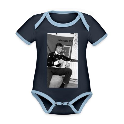 el Caballo - Organic Baby Contrasting Bodysuit