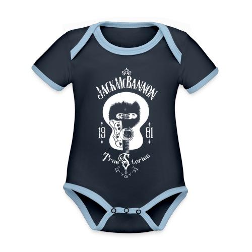 Jack McBannon - Guitar (True Stories) - Baby Bio-Kurzarm-Kontrastbody