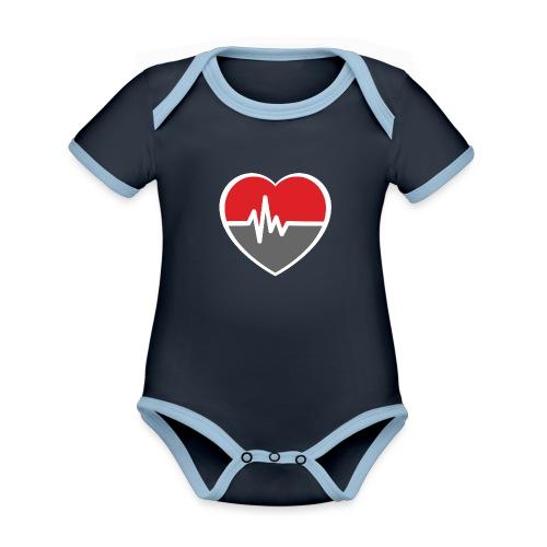 RaveHeart - Flowjob - Organic Baby Contrasting Bodysuit