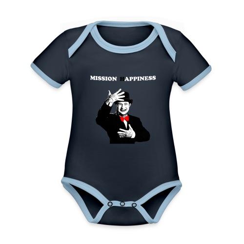 Ti Apro La Porta - Organic Baby Contrasting Bodysuit