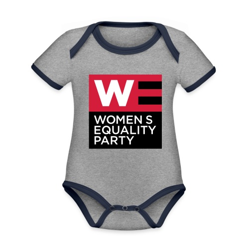 WE_LOGO_RED_CMYK - Organic Baby Contrasting Bodysuit