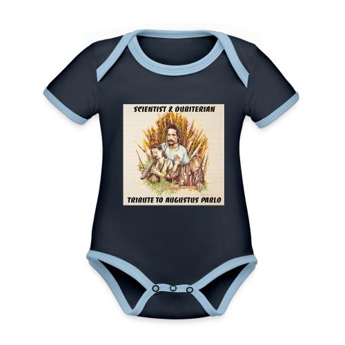 Scientist Dubiterian - Organic Baby Contrasting Bodysuit