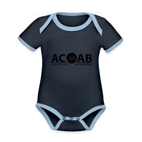 ACAB All Cyclists Are Beautiful T-Shirts - Baby Bio-Kurzarm-Kontrastbody