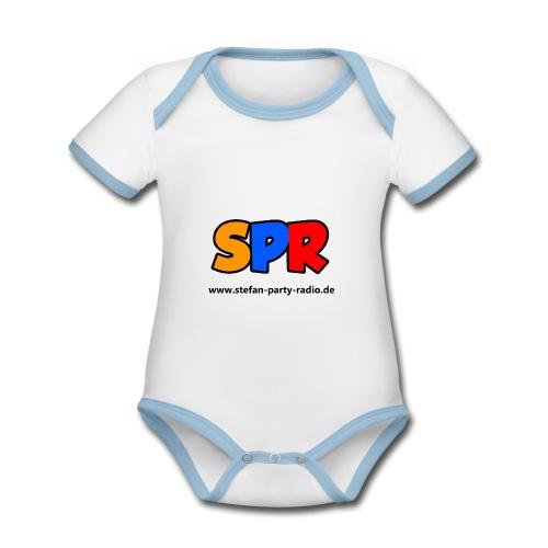 SPR Fan Artikel - Baby Bio-Kurzarm-Kontrastbody