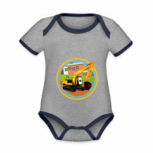 Diggy T Shirt - Organic Baby Contrasting Bodysuit