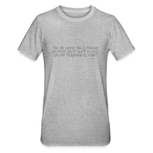 Abstand halten rettet Gehirnzellen - Unisex Polycotton T-Shirt