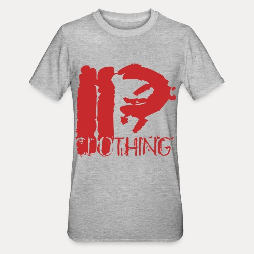 IRON PSYCHO LOGO ORIGINAL-RED - Unisex Polycotton T-Shirt
