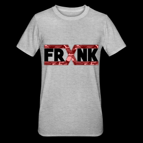 Red Camo 'FRXNK' Logo - Unisex Polycotton T-Shirt