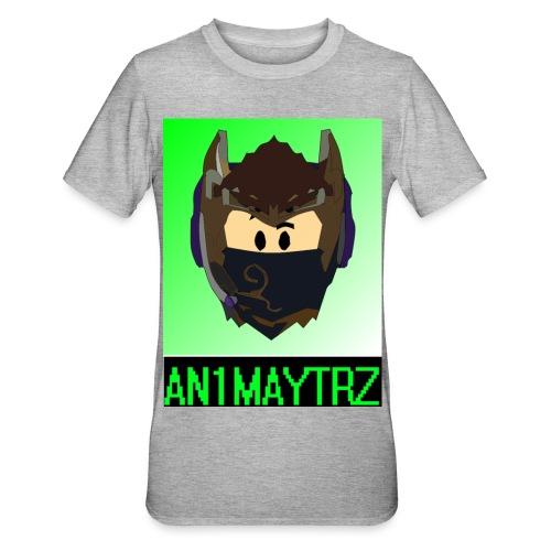 AN1MAYTRZ logo + title - Unisex Polycotton T-Shirt