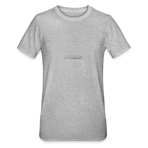 logo_TS - Koszulka unisex z polibawełny