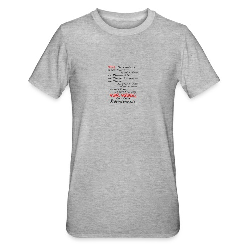 Kosement 974 ker kreol - T-shirt polycoton Unisexe