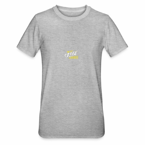 Logo Album First Chance - T-shirt polycoton Unisexe